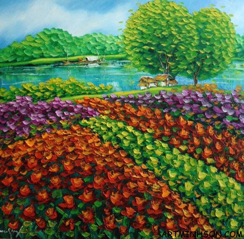 Làng hoa Hà Nội – size 90×95 #90