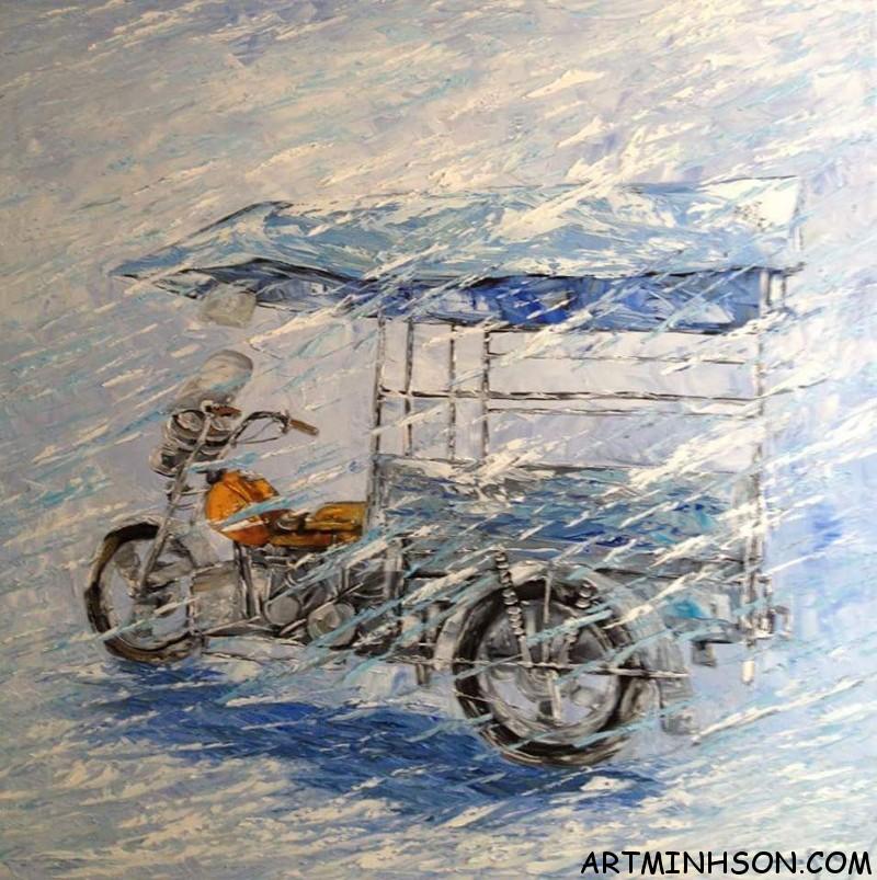Oil painting still life - Nguyen Minh Son Artist