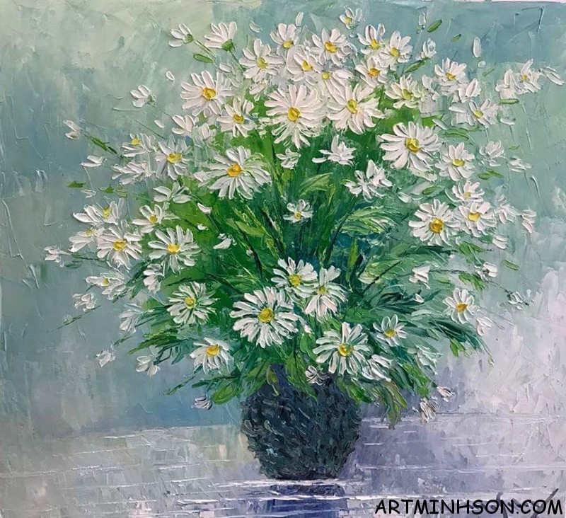Oil painting still life - Nguyen Minh Son Artist